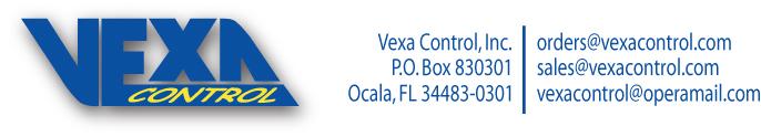 Vexa Control, Inc.
